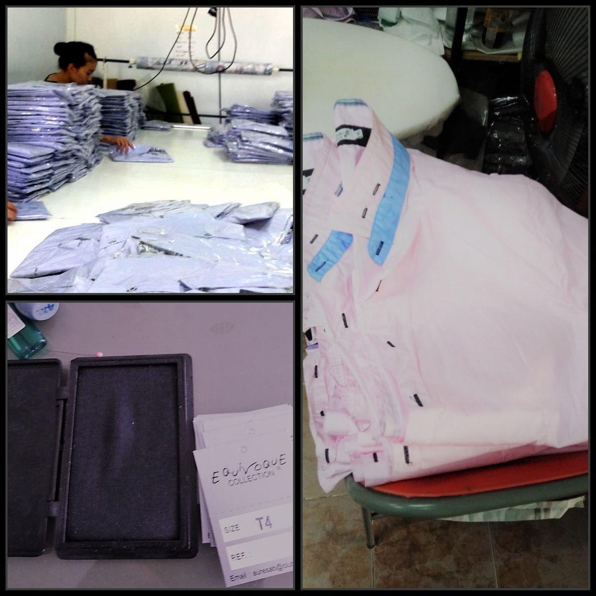 Etape processus fabrication chemise 4