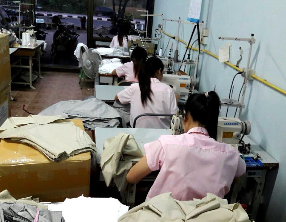 Etapes de fabrication chemise