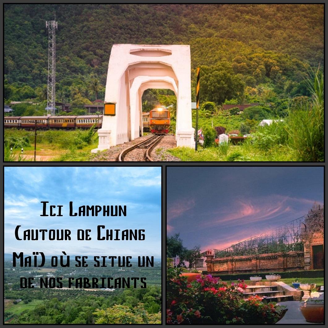 lamphun alentour Chiang maÏ Thaîlande